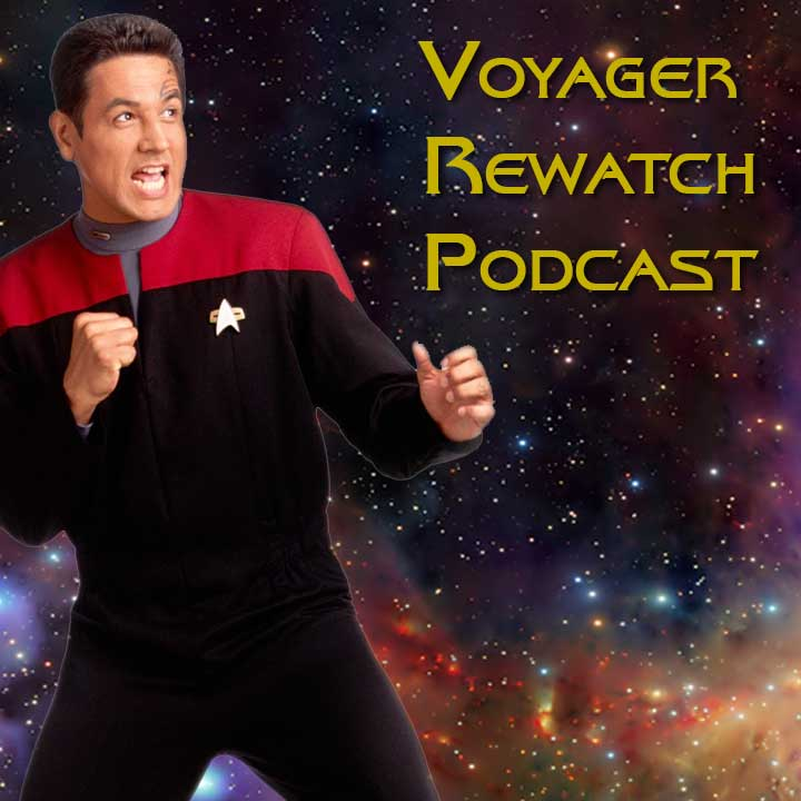 Icon des Voyager Rewatch Podcast